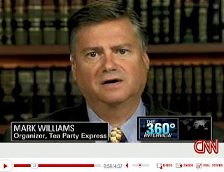 Racist Tea Party Express blogger Mark Williams expelled from Tea Party