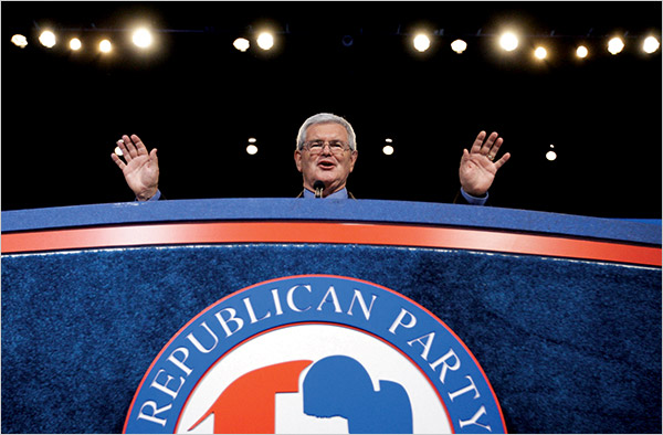 newt gingrich man of the year time. and one woman at a time.quot;