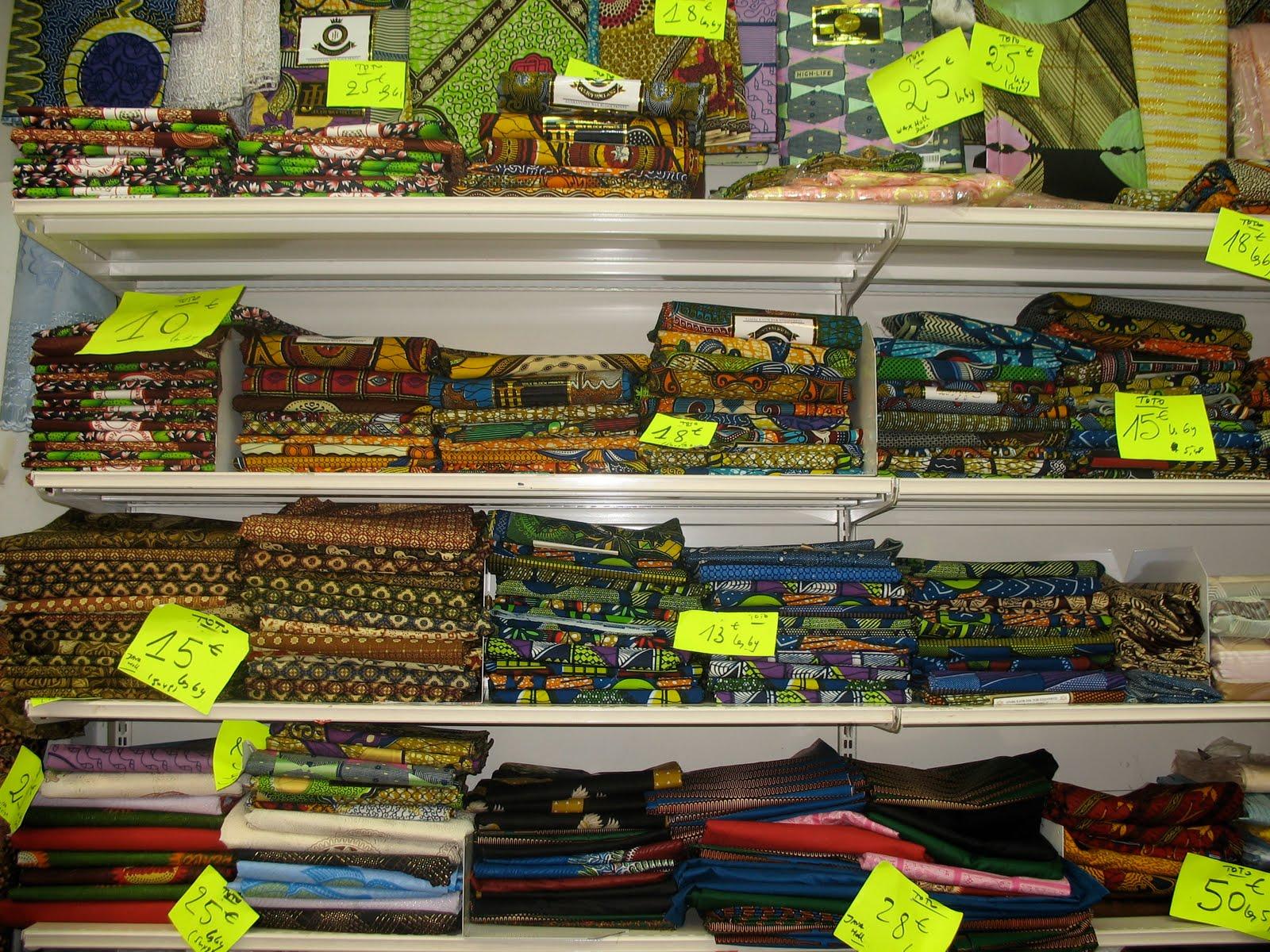 tissu africain marche saint pierre