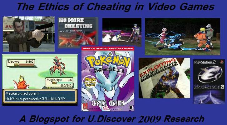 Ethics of Cheating in Video Games