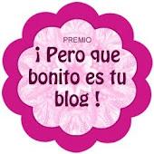 Premio: ¡Pero qué bonnito es tu blog!
