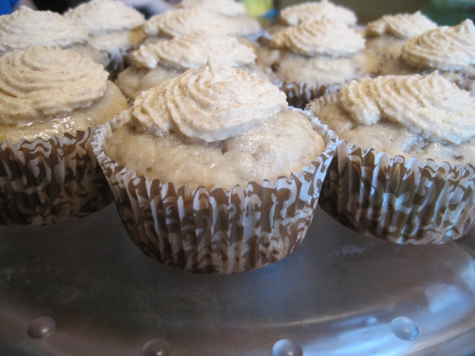 ... Mom: Dairy-Free, Egg-Free Banana Cupcakes with Honey Cinnamon Frosting