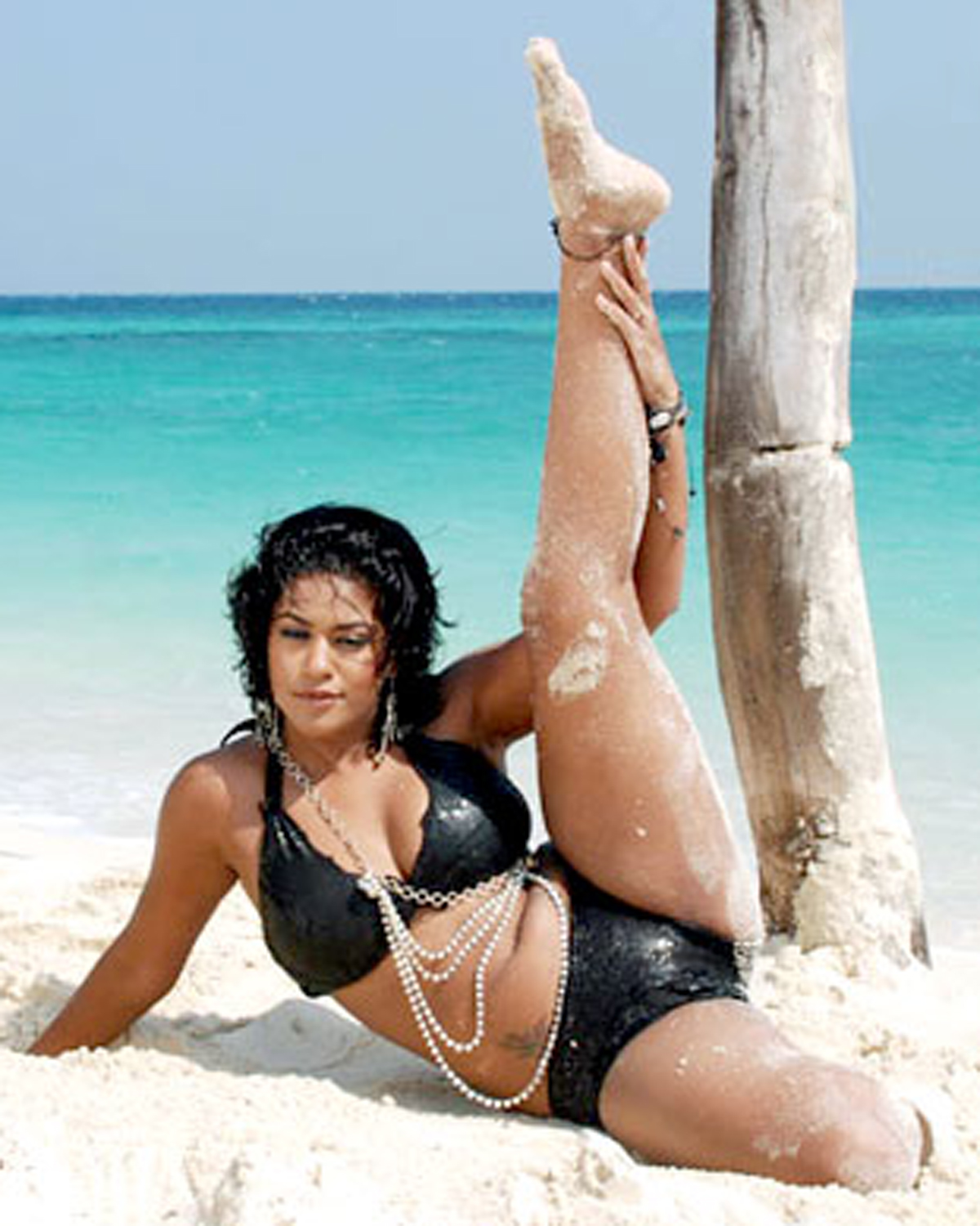 Mumaith Khan Hot In Bikini