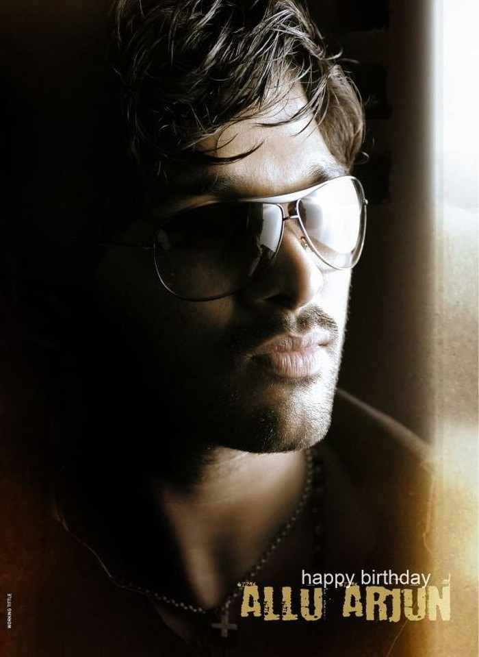 allu arjun in arya 2 stills are his birth day pics working stils