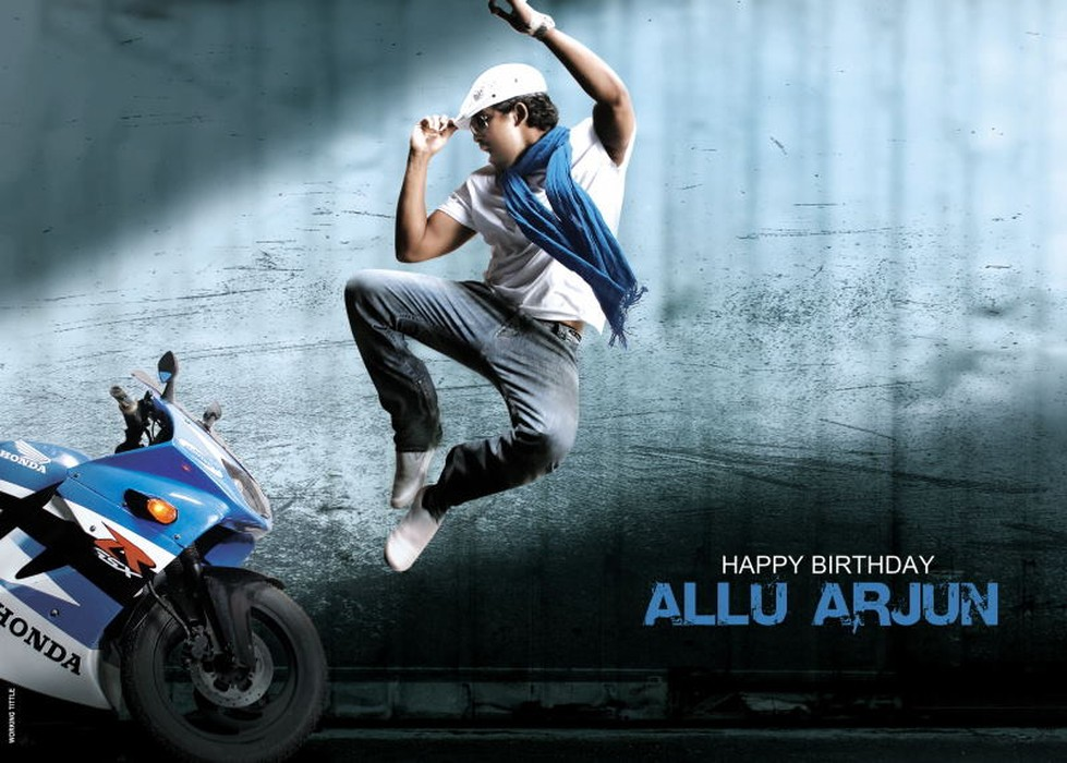 kajal and allu arjun in arya 2