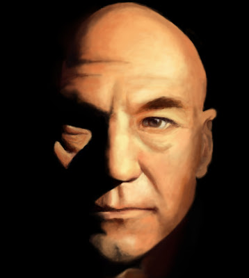 Star Trek: Next Generation: Jean Luc PICARD WALLPAPER