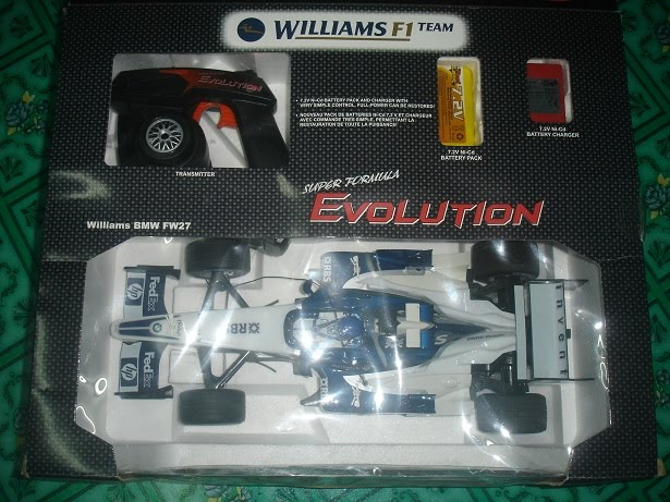 Name Of RC : Nikko F1 William Team RC Item Code : RC001
