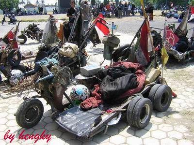 Vespa-Vespa Paling Jorok dari Indonesia