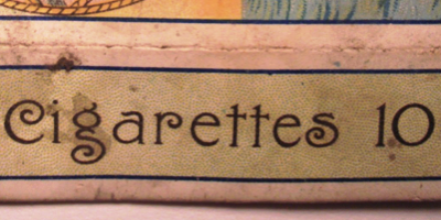 Cigarette Pack Reverse