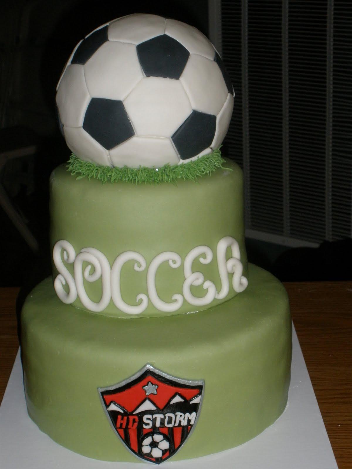 Its a piece of cake Soccer Ball Cake