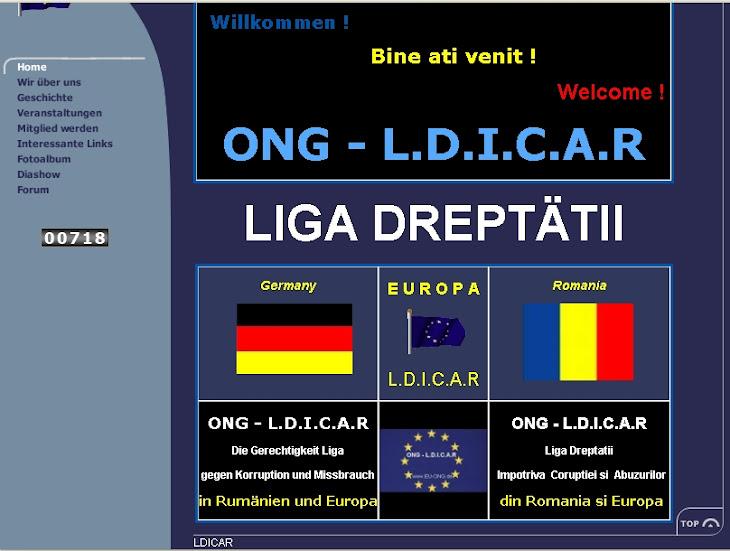 Center in Deutschland Justiz der Liga gegen die Korruption und Missbrauch von Europa-Rumänien