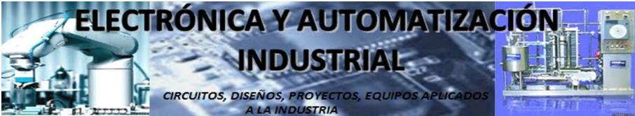 Electronica y Automatizacion Industrial
