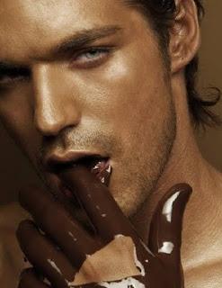 delícia de chocolate - homem