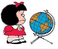 Mafalda e a Terra
