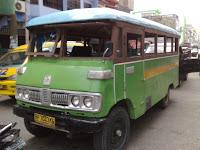 Wooden bus, oplet. Tanjung Balai Karimun