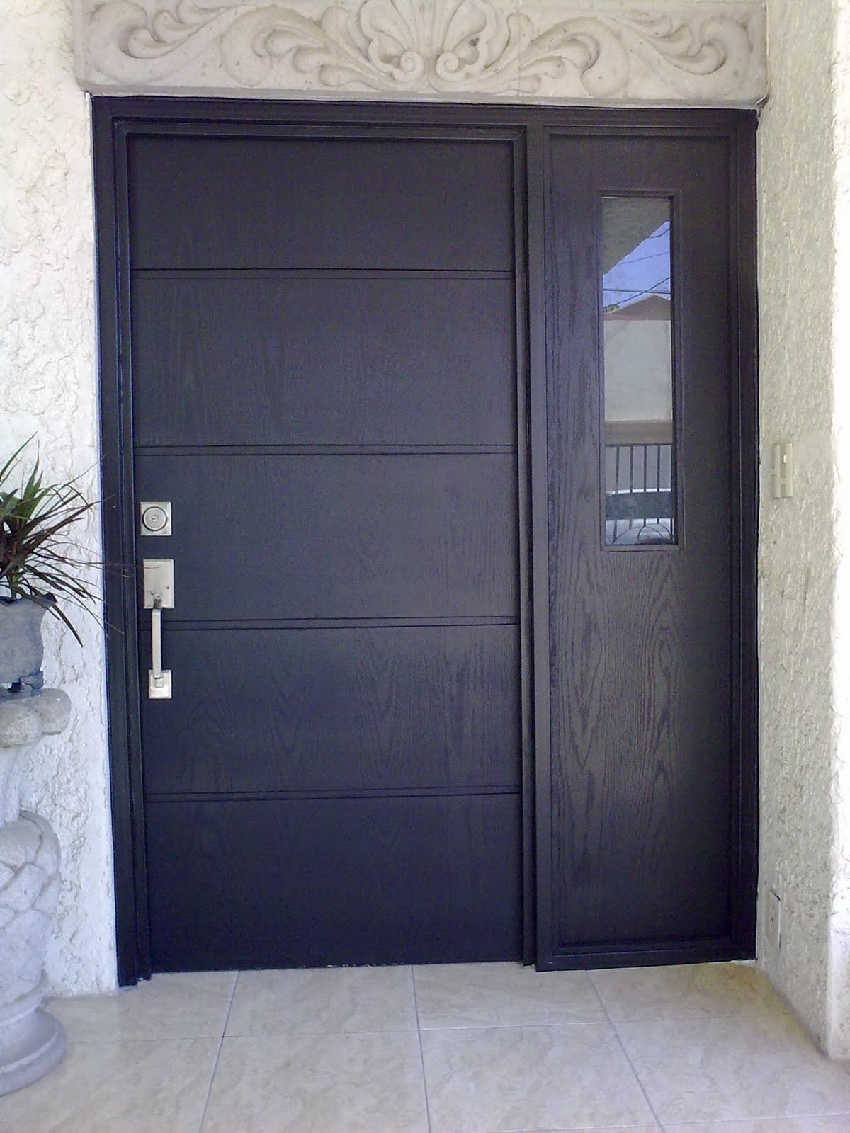 Puertas closets y mas fibra de vidrio contemporanea - Puertas de fibra de vidrio ...