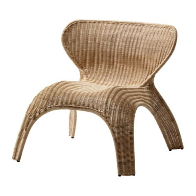 Caldwell home wicker at ikea all under 70 - Fauteuil design ikea ...