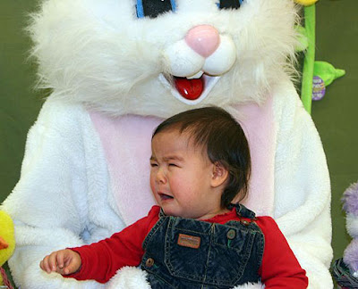 Scared of the Easter Bunny Seen On www.coolpicturegallery.net
