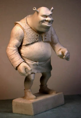 Famous Fictional Characters in Stunning Sculptures Seen On www.coolpicturegallery.net