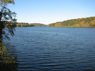 Fall on the Croton reservoir