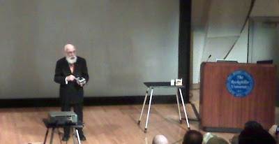 James Randi speaking in NYC