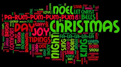 Christmas-Carol Wordle