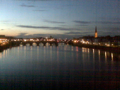 Maastricht, looking over the river Maas