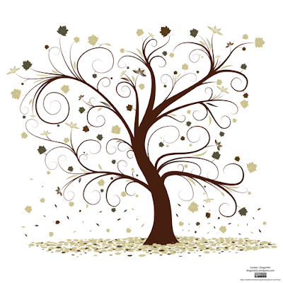 tree with leaves wedding templates .