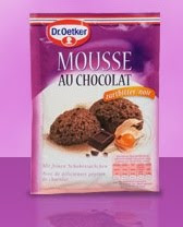 Amostra Gr�tis Mousse de chocolate