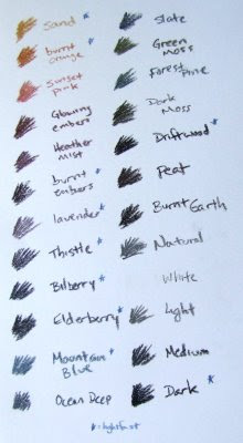 tinted charcoal colors