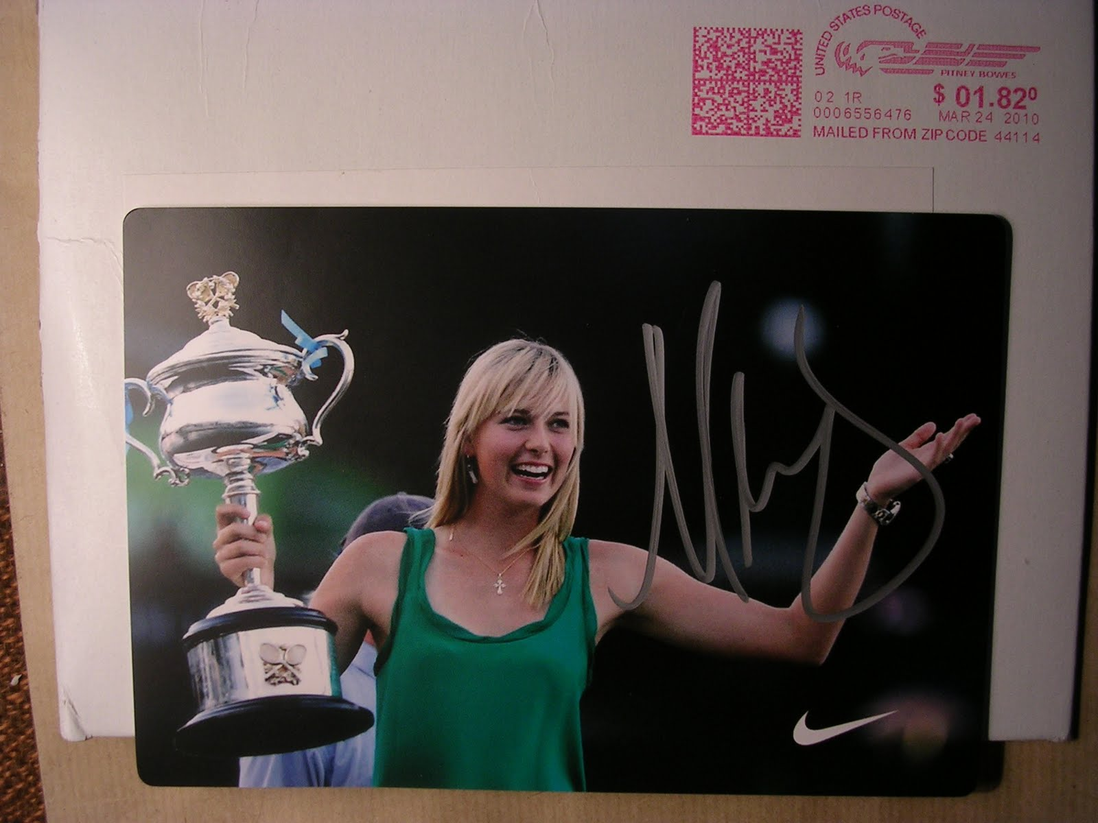 Maria Sharapova 2010 Australian Open Grand Slam Tennis | Auto Design ...