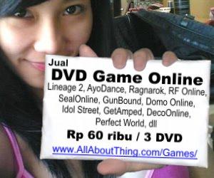 JUAL DVD Game Online MURAH  !!