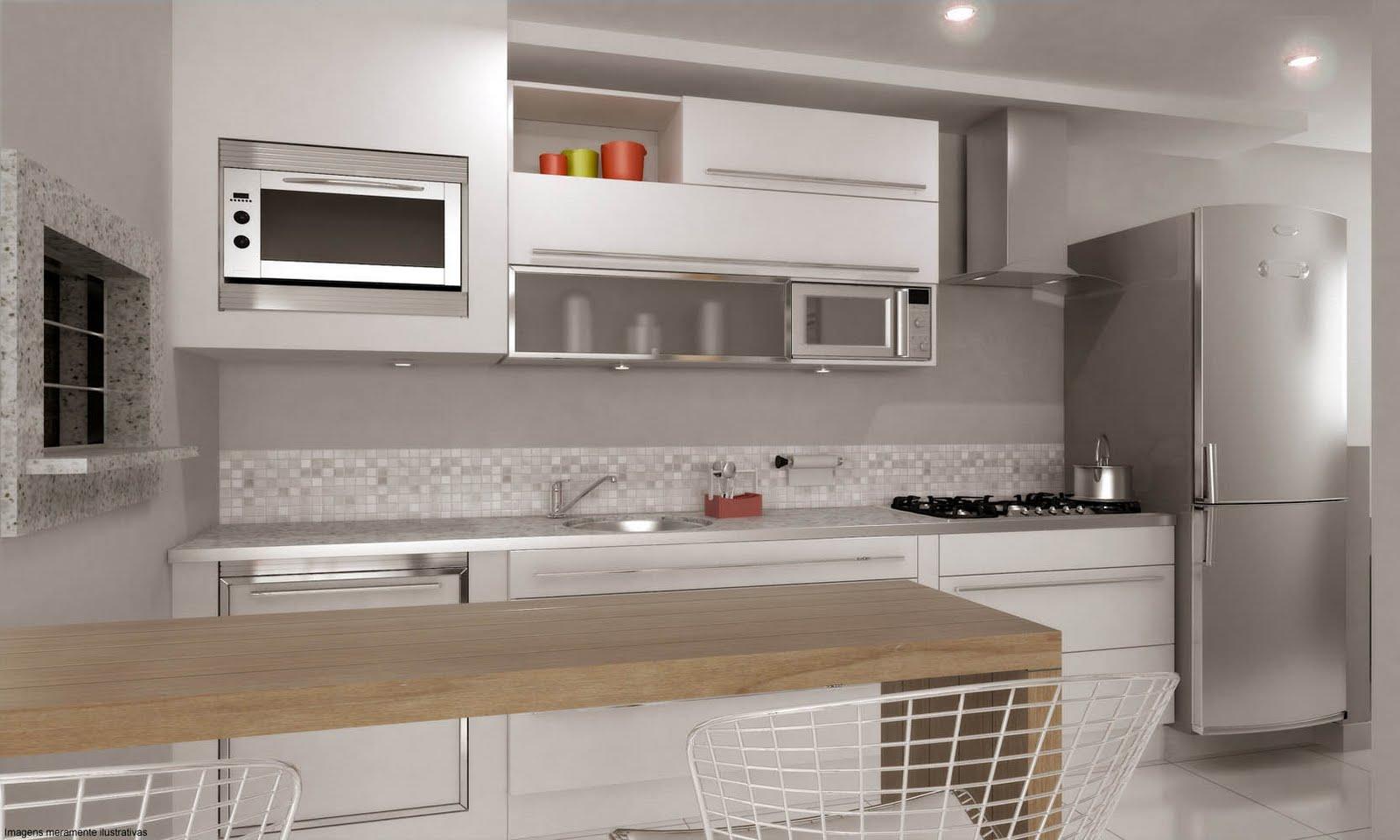 #A43E27 Inn Side Apartamentos 2 dormitórios R$ 129mil* Imóveis Novos 1600x960 px Banquetas Para Cozinha Americana Porto Alegre #1579 imagens