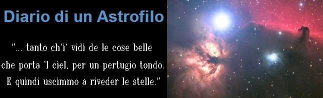 Diario di un astrofilo