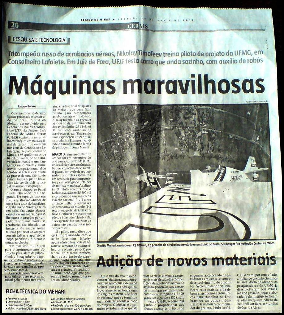Tuareg no jornal Estado de