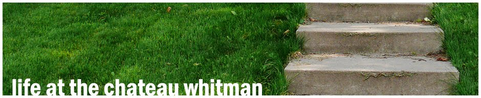 Life at the Chateau Whitman - A couple of young punks with a blog