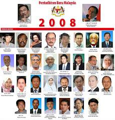 Kabinet Bayangan Anwar Pada 16 September 2008. Sudah Terbit Dalam Sinar Harian 2 Ogos