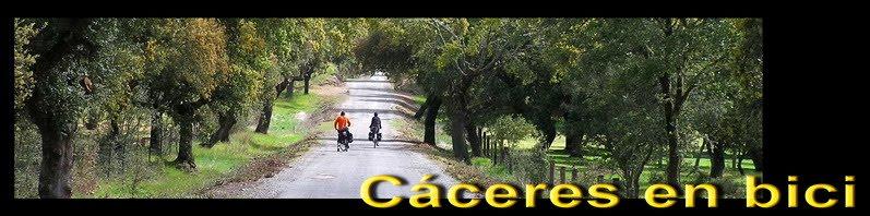 Cáceres en bici