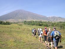 Trekking del Rinjani.