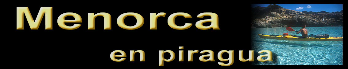 Menorca en piragua