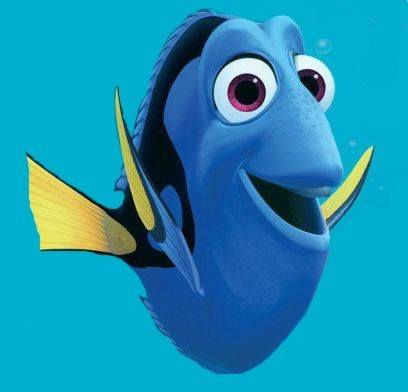 dory and nemo. yes dory. we all remember how