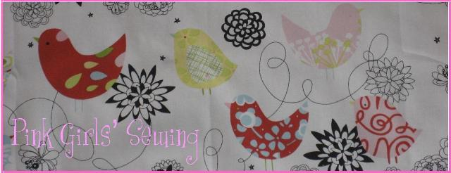 Pink Girls' Sewing