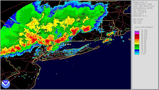 NEXRAD image of KBDR area at 2115Z 26 June 2009