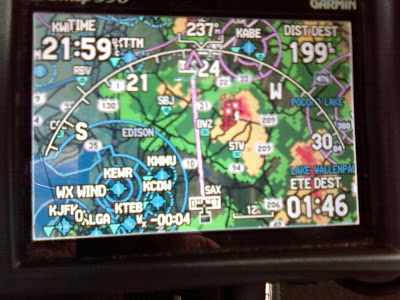 N631S wx situation at 2159Z on 07-17-09