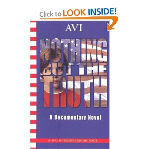 the musings of a book addict nothing but the truth by avi nothing but the truth by avi