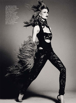 glam rock editorial 2010