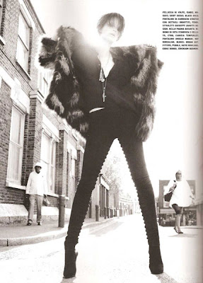 glam rock shoot in vogue 2010