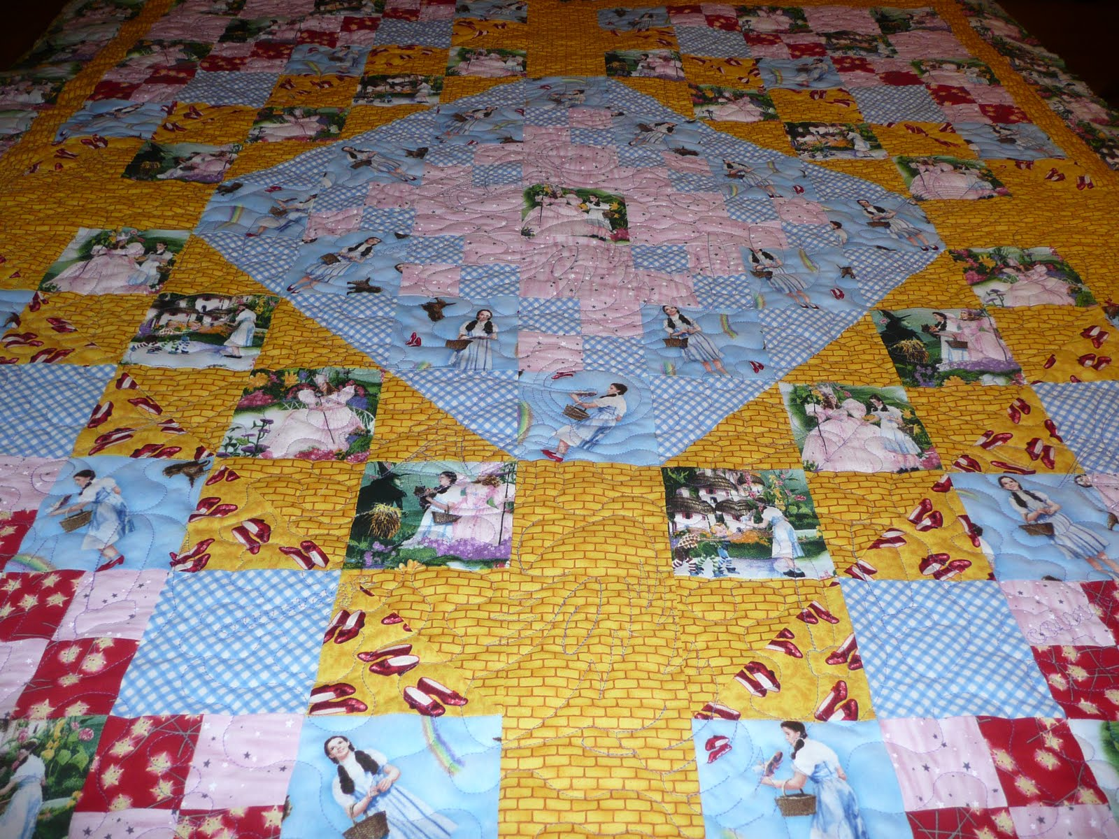 Acorn Ridge Quilting: Mary's Wizard of Oz Quilt : oz quilts - Adamdwight.com