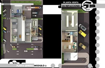 D3516n for Carros para planos arquitectonicos