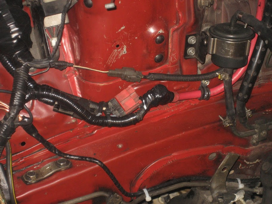 IMG_5798 battery relocation to the trunk with new cables wires and ground Basic 12 Volt Wiring Diagrams at n-0.co